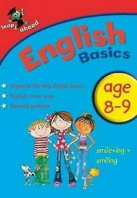 Learn English Basics age 8-9 - New Book