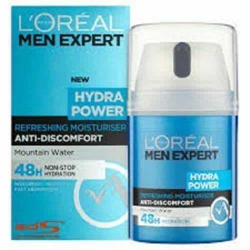 LOREAL MEN EXPERT HYDRA POWER REFRESHING MOISTURISER 50 ML Each 8 product rati