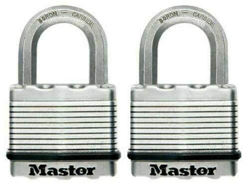 Master Lock Excell M50D Discus Padlock            Features: • 80mm diameter stai