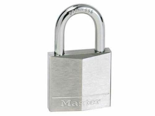 MasterLock 9140D Hardened Steel Shackle Solid Aluminium Body 40mm Padlock (B13)