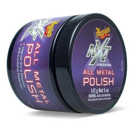 Meguiar's NXT All Metal Polysh [G13005EU] Chrome Brass Polish Protector 142g