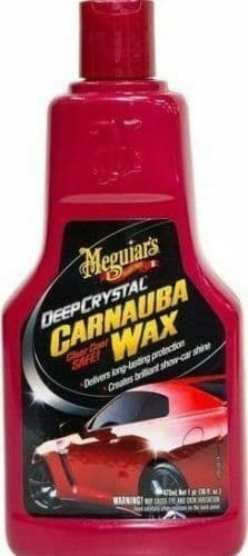 Meguirar's Deep Crystal System Step 3 Carnauba Wax 473ml - A2216EU
