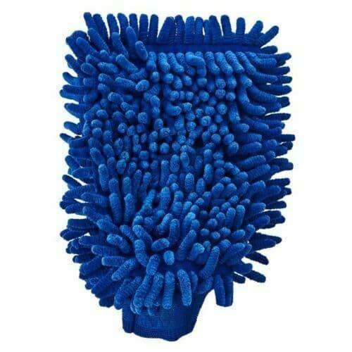 Microfibre Car Wash Cleaning Mitt Glove Polishing Windows Shampoo Duster Cloth
