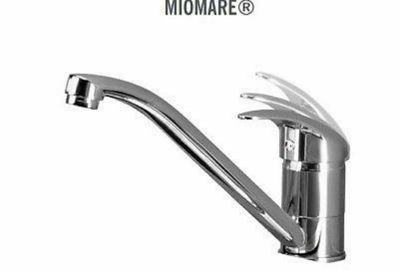MIOMARE Chrome Kitchen Mixer Tap Pull Out Handle BRAND NEW & SEALED