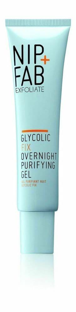 Nip+Fab Glycolic Fix Overnight Purifying Gel 40 ml Book