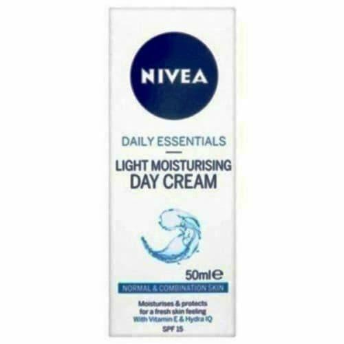 NIVEA DAILY ESSENTIALS LIGHT MOISTURISING DAY CREAM 50 ML