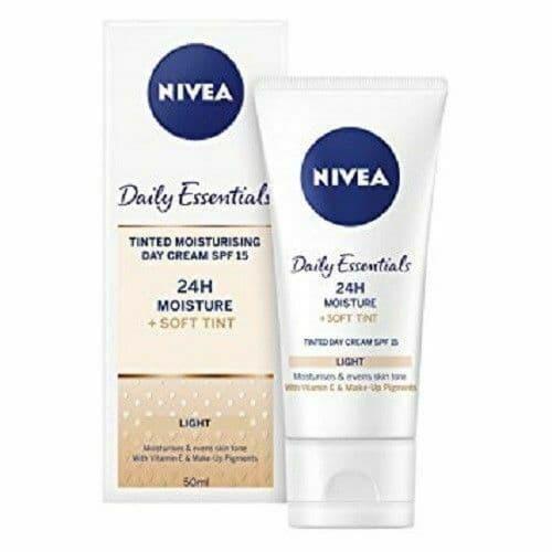 NIVEA Daily Essentials Tinted Moisturising Day Cream SPF 15 - 50ml