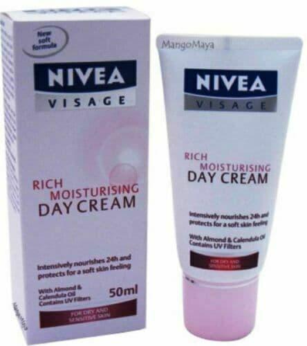 Nivea Visage Rich Moisturising Day Cream - 50 m