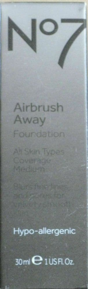 No7 AIRBRUSH AWAY FOUNDATION DEEPLY BEIGE 30ml