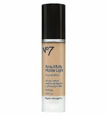 No7 Matte Light Foundation Deeply Beige from NO7