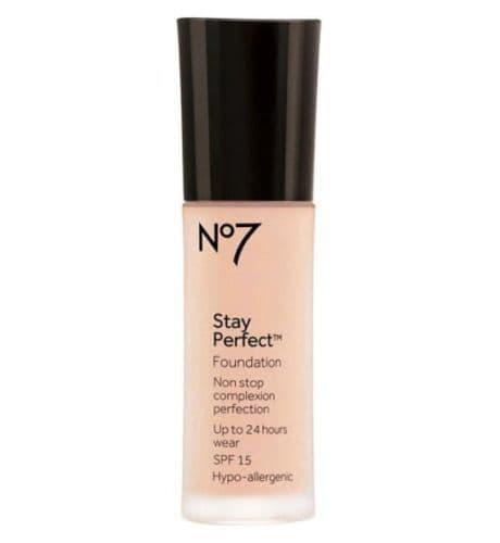 No7 Stay Perfect Foundation 30ml SPF15 Wheat