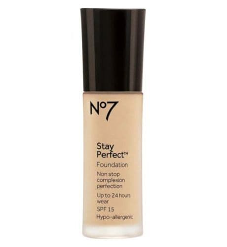 No7 Stay Perfect Foundation SPF15 30ml
