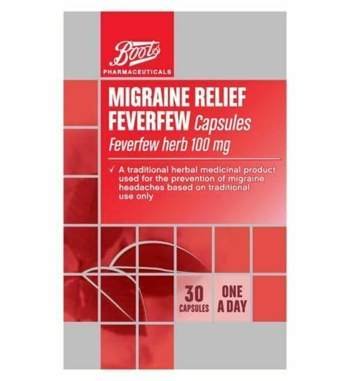 Pharmaceuticals Migraine Relief Feverfew Capsules - 30 Capsules Read more at htt