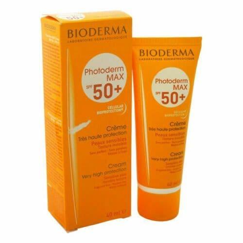 Photoderm Max SPF 50+ Cream by Bioderma for Unisex - 1.3 oz Cream