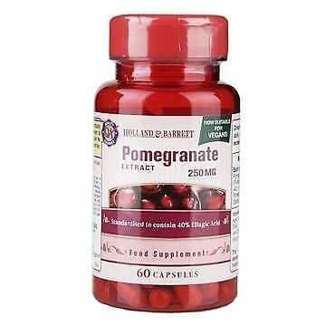 Pomegranate 250mg 60 Capsules