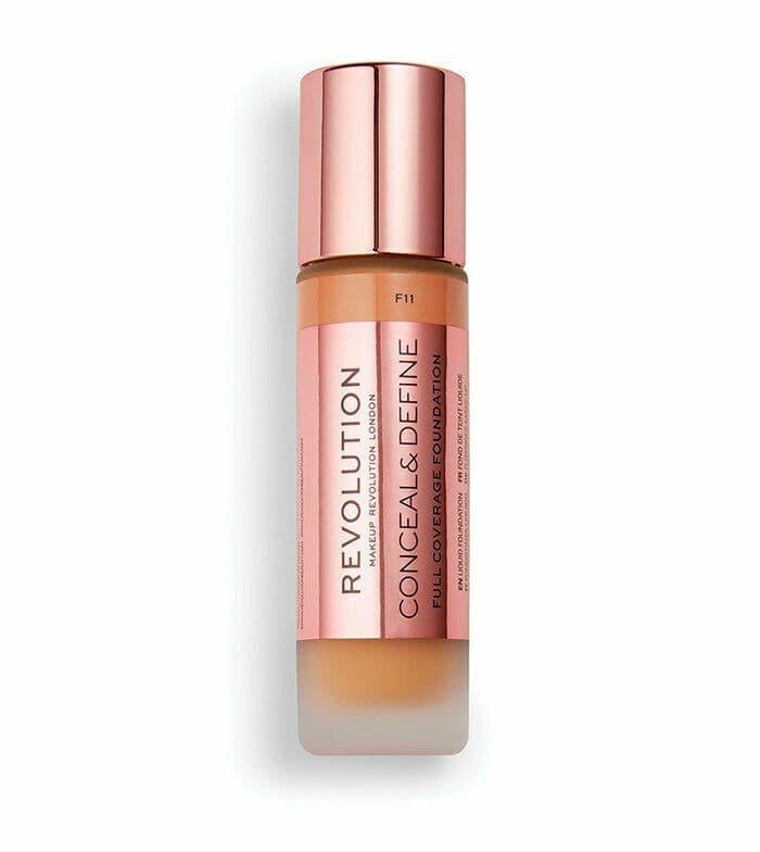 Revolution - Base de maquillaje Conceal & Define - F11
