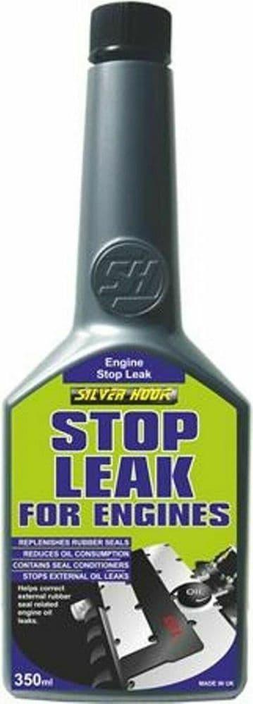 Silverhook Engine Stop Leak Treatment - Car Van Oil Additive - 350ml