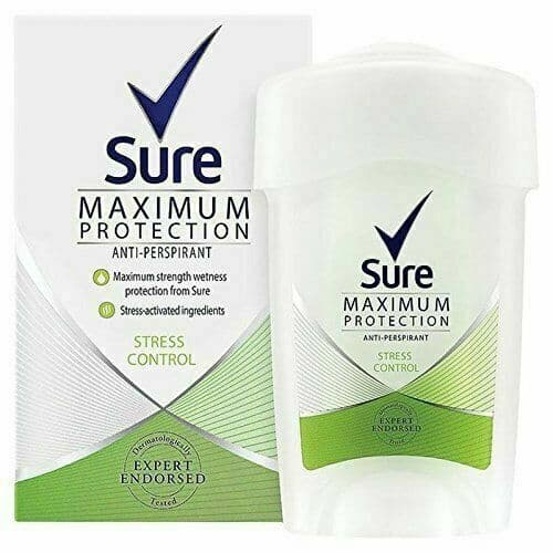 Sure Women Maximum Protection Anti-Perspirant Deodorant Cream 45ml