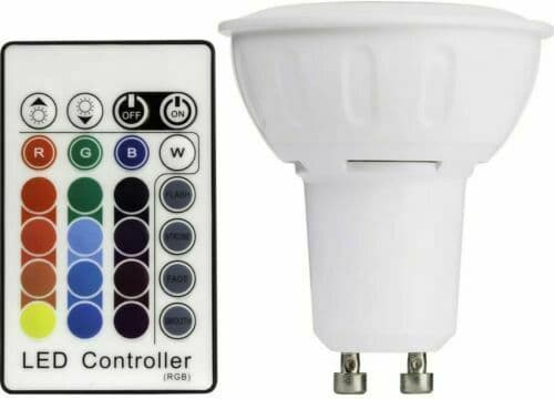 TCP SmartLED Colour Changing GU10 Bulb with Remote Control