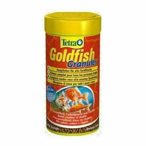 TETRA GOLDFISH GRANULES 80G COMPLETE FISH TANK FOOD