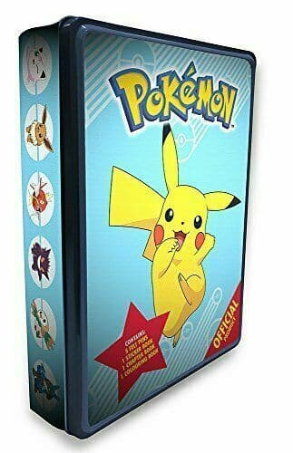 The Official Pokémon Tin [Paperback] Pokémon