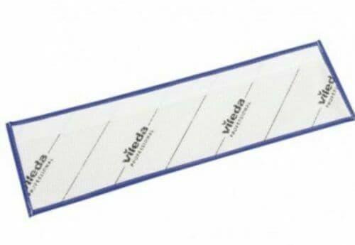 Vileda Professional MicroOne Pocket 40cm Mop Pad (blue) 25 Per Pack + 14 Pads