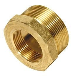 "¾"" x ½"" bush - brass"