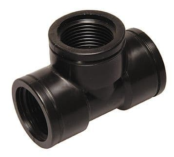 "½"" x ½"" x ½"" tee - female BSP - polypropylene"