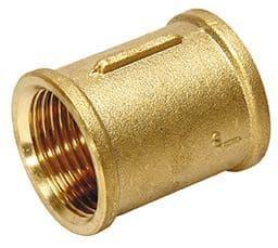 "2"" x 2"" socket - brass"