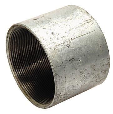 "2½"" x 2½"""" socket - galvanised iron"
