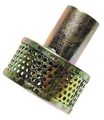 "25mm (1"") strainer c/w hose tail   -  tin"