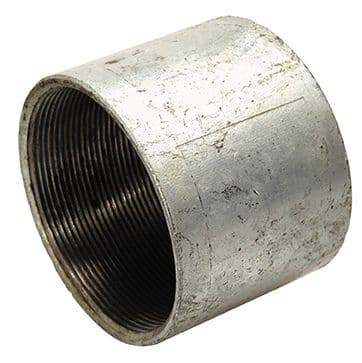 "4"" x 4"" socket - galvanised iron"