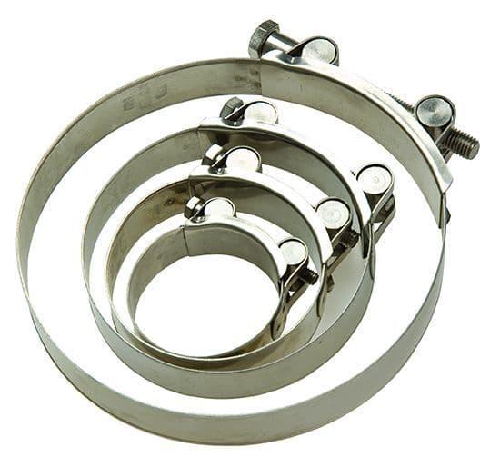Hose clamp (nominal hose size & type)
