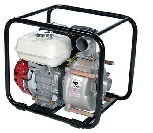 Tsurumi TDS TED Petrol/Diesel Trash Pump