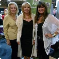 Valerie, Sue and Caroline