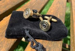 303 Handmade Bullet Cufflinks