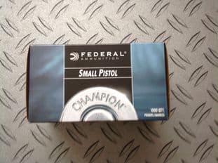 Fedral Small Pistol Primers per 1000