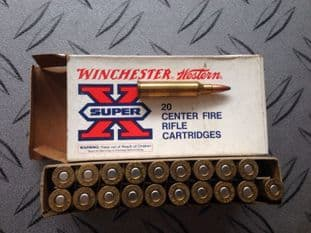 Winchester .225 soft point x 20 rounds