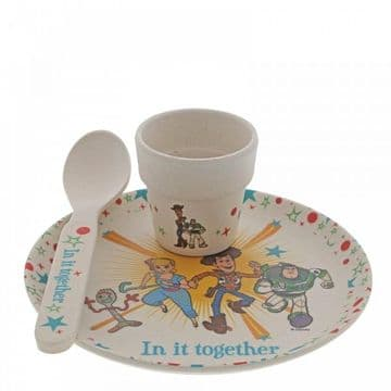 Disney Enchanting A29966 Toy Story 4 Bamboo Egg CupSet