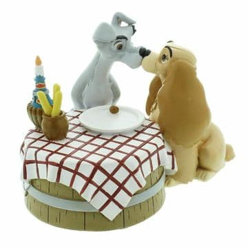 Disney Magical Moments DI193 Lady & The Tramp Table Love New & Boxed