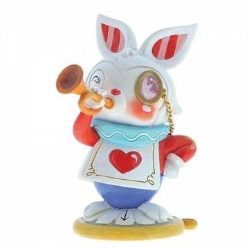 Disney Miss Mindy 6001037 White Rabbit Figurine New & Boxed