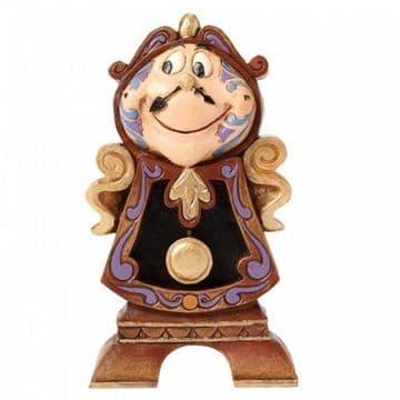 Disney Traditions 4049621 Keeping Watch (Cogsworth Figurine)