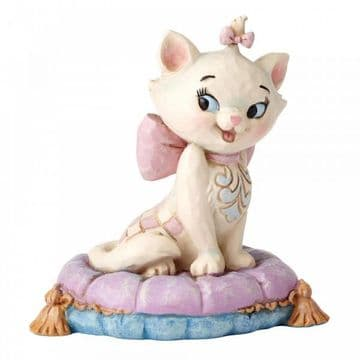 Disney Traditions 4054288 Marie on Pillow MiniFigurine