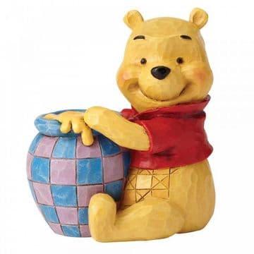 Disney Traditions 4054289 Winnie the Pooh with Honey Pot MiniFigurine