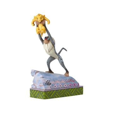 Disney Traditions 4055415 Rafiki And Baby Simba Figurine