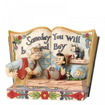 Disney Traditions 4057957 Someday You Will Be A Real Boy (StorybookPinocchio)