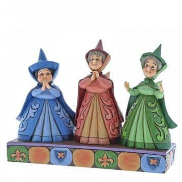 Disney Traditions 4059734 Royal Guests (Three FairiesFigurine)