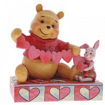Disney Traditions 4059746 Handmade Valentines (Pooh and PigletFigurine)