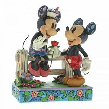 Disney Traditions 6000969 Blossoming Romance (Mickey&Minnie) New & Boxed
