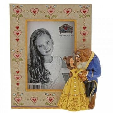 Disney Traditions 6001369 Beauty and the Beast PhotoFrame